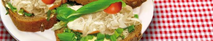 Zuurkoolrecepten: Paprika gevuld met pittige zuurkool