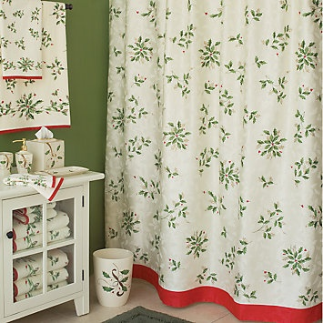 Best Holiday Bathroom Decorations Images On Pinterest - Christmas bath towels for small bathroom ideas