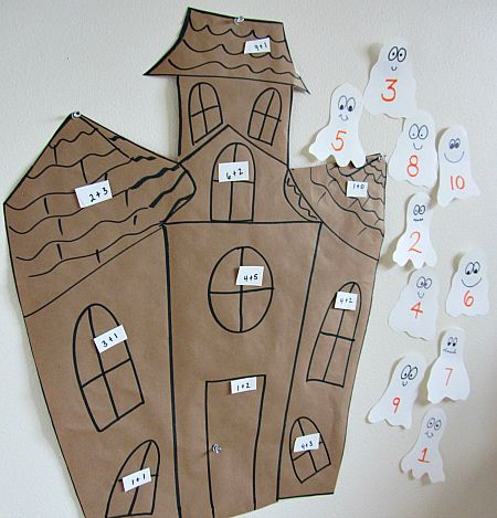 Halloween Math Activity For Kids