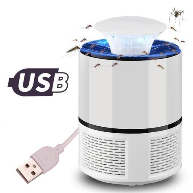 Lampe Uv Piege Anti Moustique A Led Portable Rechargeable Sur Usb