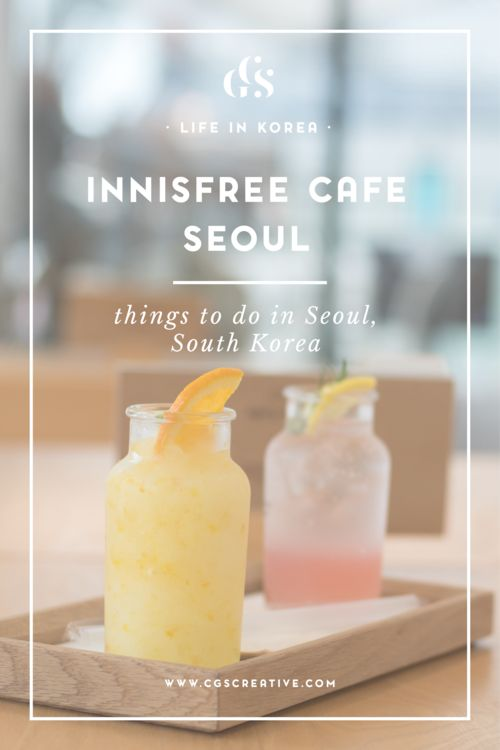 Innisfree Cafe Seoul, South Korea