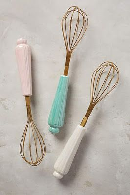 Get whisking with these pretty pastels