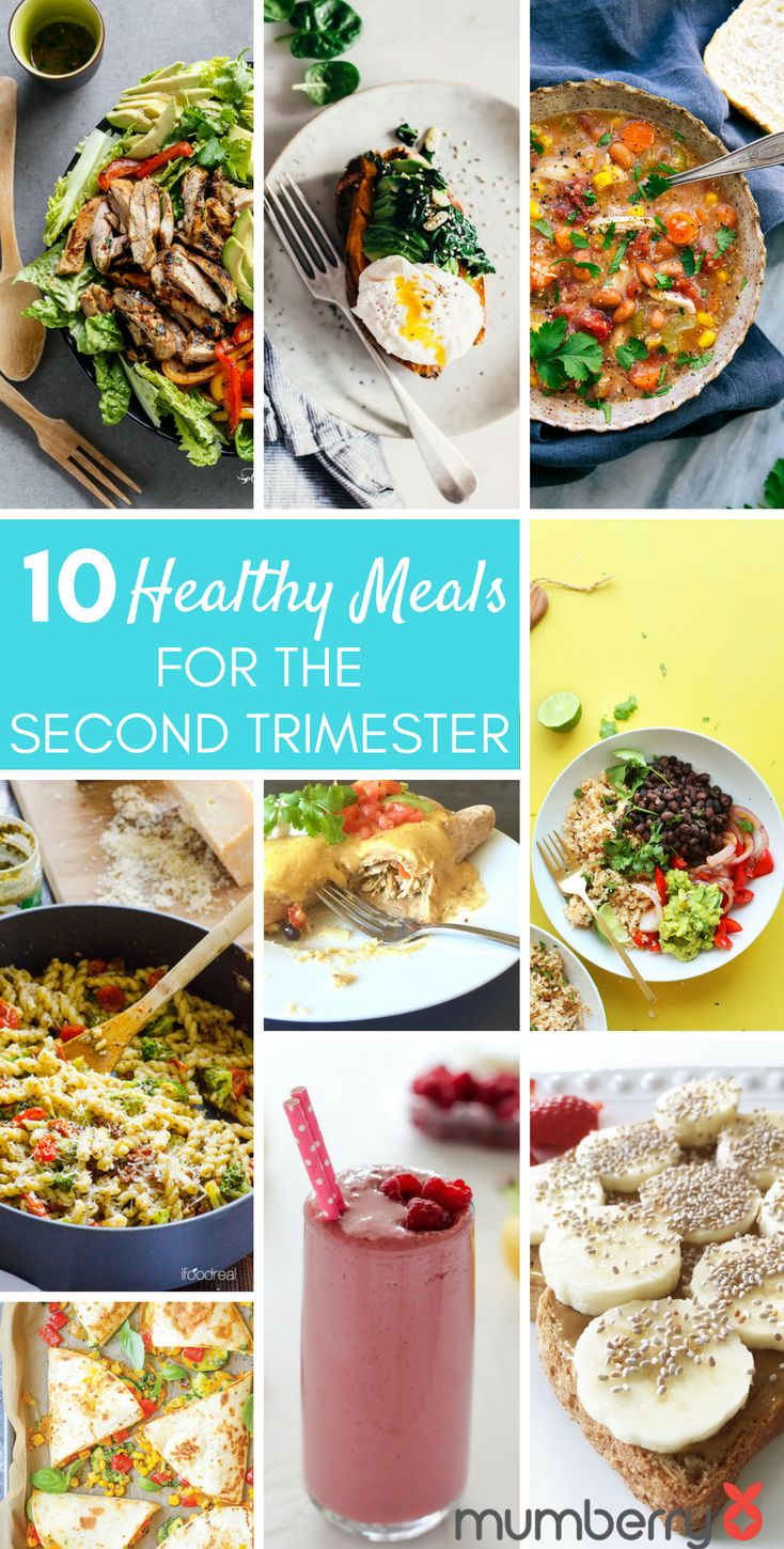10 of the best healthy pregnancy meals for the second trimester (plus 10 for the first and third!) | Mumberry