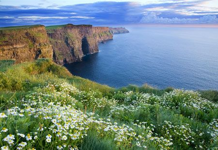 Cliffs of Moher, Ireland (© The Irish Image Collection/SuperStock)