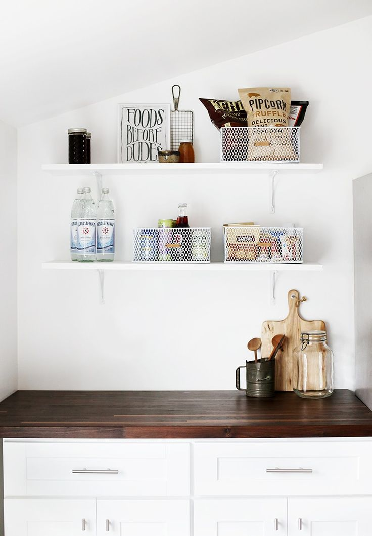Pantry Organization - DIY Leather Labels @themerrythought