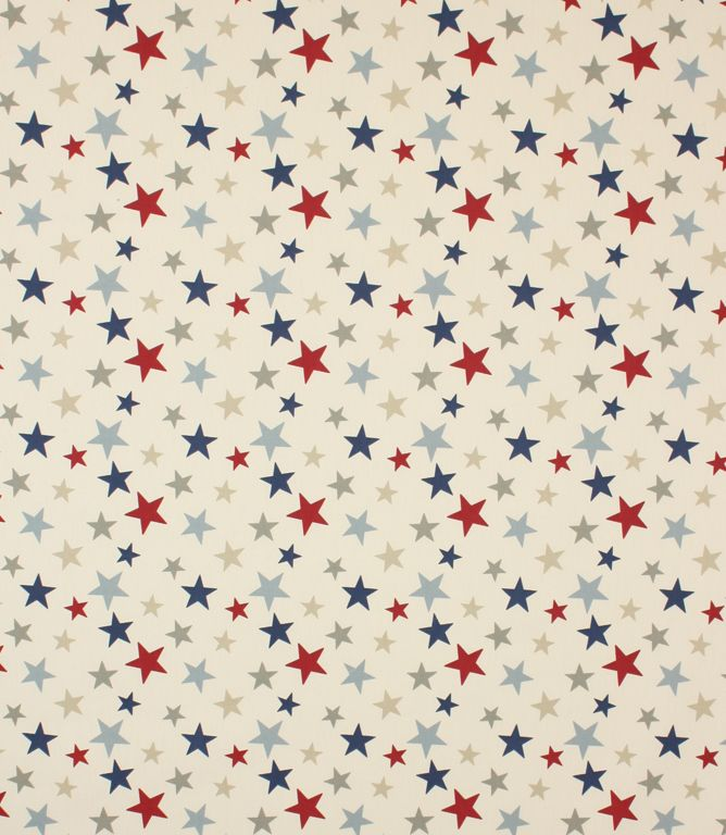 This star fabric is made from 100% cotton and is suitable for use as a blind fabric, curtain fabric and cushion fabric. Funky Stars fabric co-ordinates with our Funky Stripefabric. Buy online or visit one of our fabric shops in Burford, Oxfordshire or Cheltenham, Gloucestershire - in the heart of the Cotswolds.