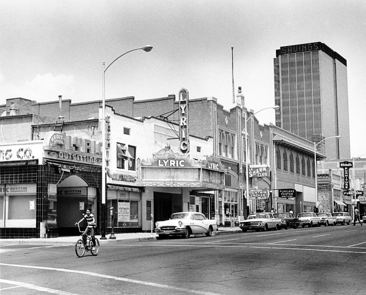 downtown tucson buildings in the late 1960s