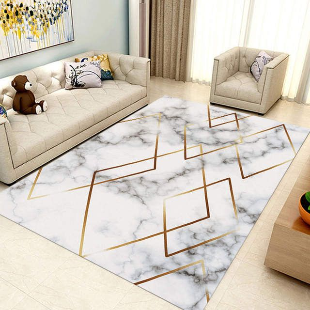 Marble Carpets Living Room Large Rugs
