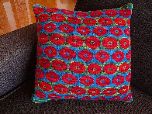Ravelry: kizzie56's Persian Poppies cushion