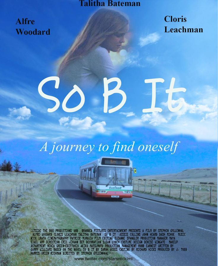 So B It movie poster.