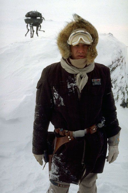 Han Solo (Harrison Ford) - in Star Wars: The Empire Strikes Back (1980)