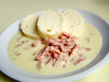 Udené mäso v horčicovej omáčke
