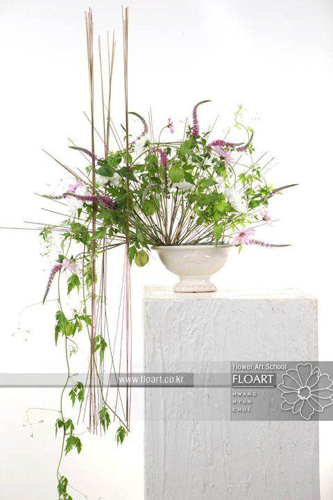 L'artista e designer Jade Hwang, designer della Floart Florist Academy, Korea Floral-1405