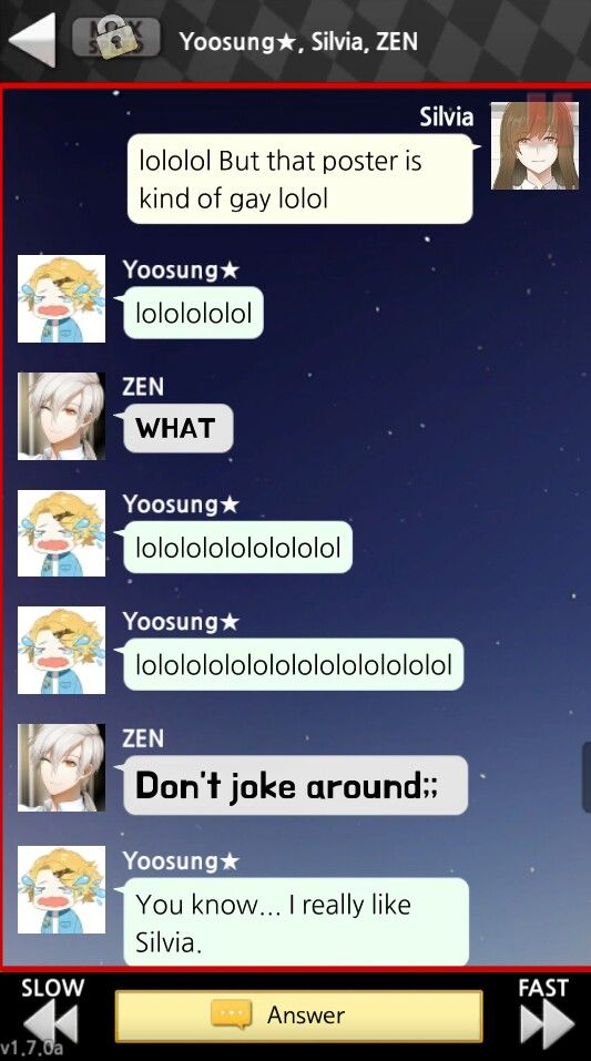 Although i say Zen is a gay, him never mad to me