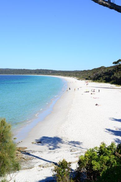 The Whitest Sand in the World - Hyams Beach, NSW Australia
