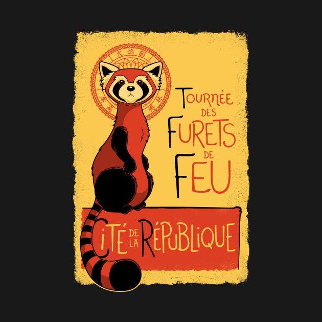 Awesome 'Les+Furets+de+Feu' design on TeePublic!