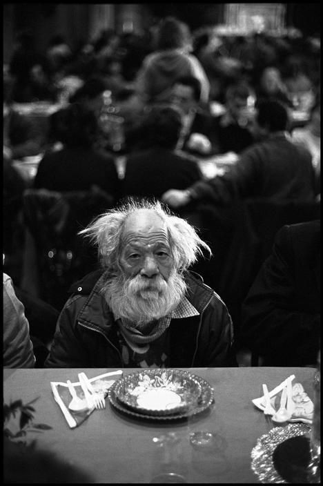 Photography by Leonard Freed.  American, Magnum photographer