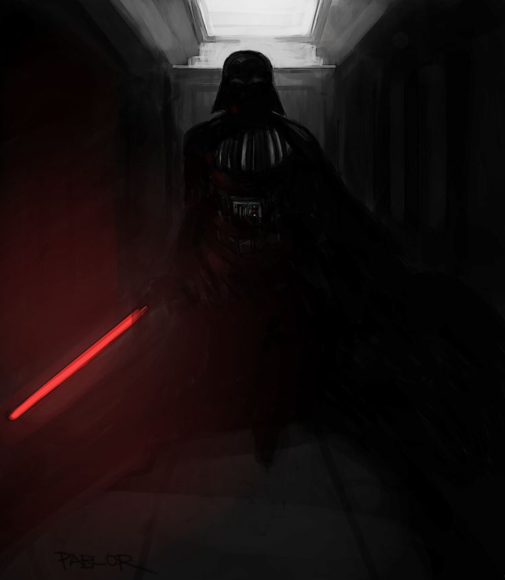 Darth Vader - Rogue One, Pablo Rivera on ArtStation at https://www.artstation.com/artwork/1WY52
