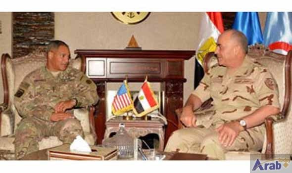 Egypt-US military cooperation discussed