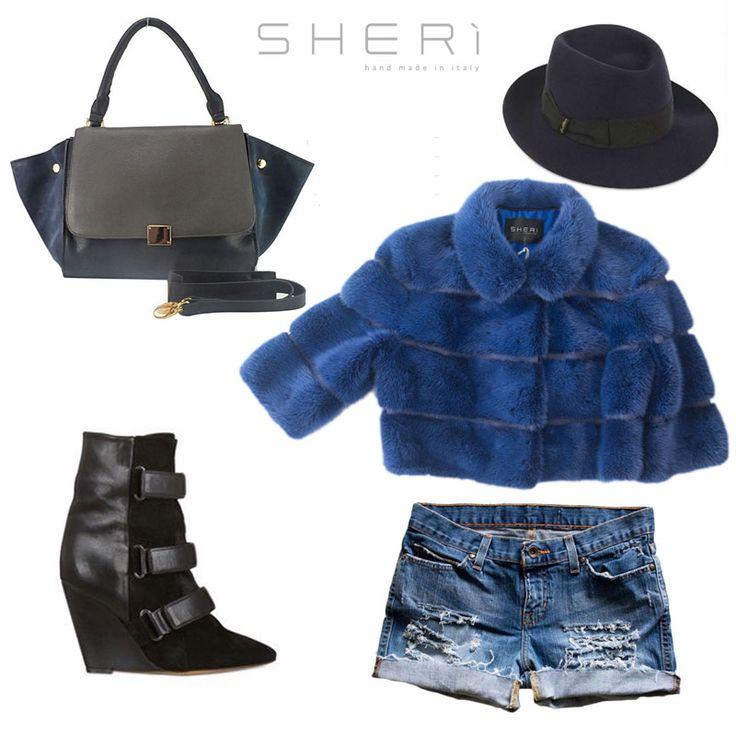 Il weekend è alle porte...cosa indosserai? #SHERì sa cosa consigliarti.   Scopri le sue collezioni: www.sheri.it  #fur #fashion #outfit #style #madeinitaly