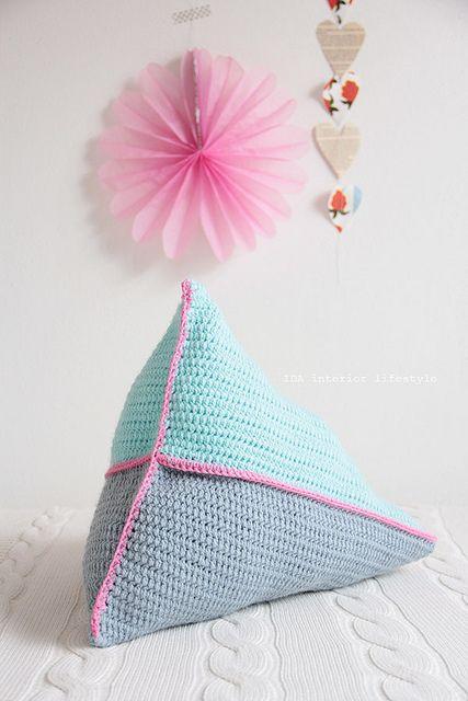 pyramid cushion.