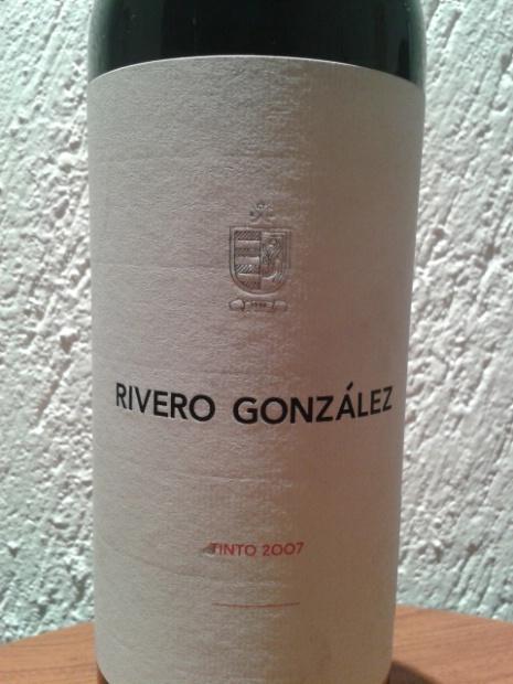 2007 Rivero Gonzalez vino tinto orgullosamente mexicano , excelente
