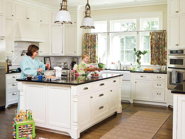 gorge.: White Dove, Dream, Kitchen Design, House, Kitchen Ideas, White Kitchens, Island
