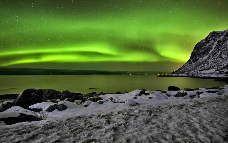 Northern lights! by Tom Knudsen on 500px.