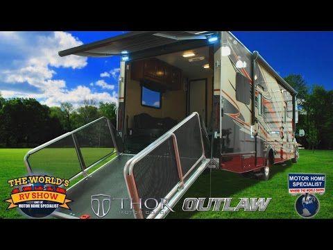 Diesel Toy Haulers, RVs, & Motorhomes! Class C Motorhome Super C RV Review - YouTube