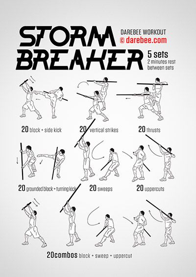 Storm Breaker Workout