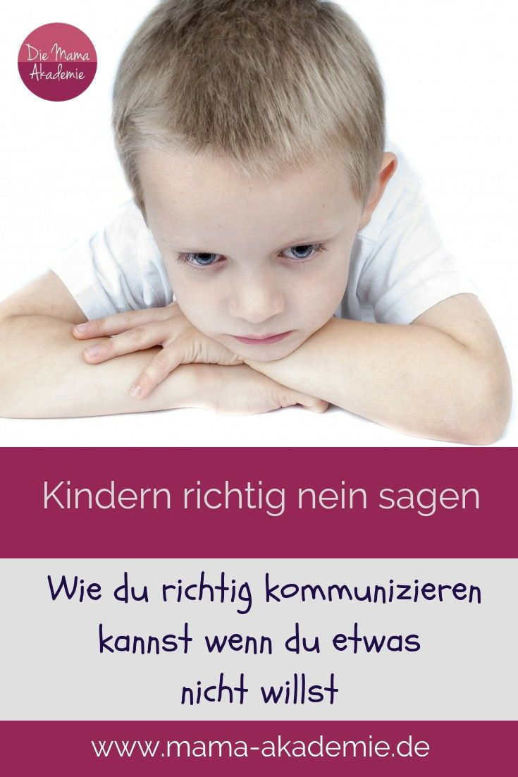 213 Kindern Nein Sagen Wie Mache Ich Es Richtig