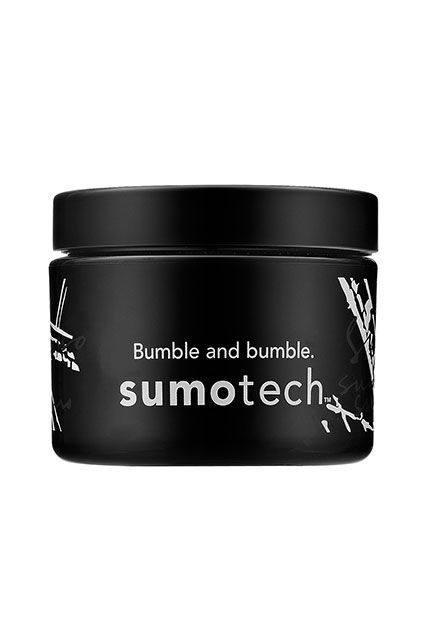 How To Really Shop Your Bumble Salon Shelves #refinery29  http://www.refinery29.com/bumble-and-bumble-products#slide-5  SumotechWhat: If you're looking for a product to add that perfect piecey-ness to your textured cut, Sumotech is what you need. This hybrid of wax, paste, and crème is the perfect molding compound for short, textured cuts. How To Use: On dry (or slightly damp) hair, use a dime-size amount and work your fingers through to create piecey-ness and texture....