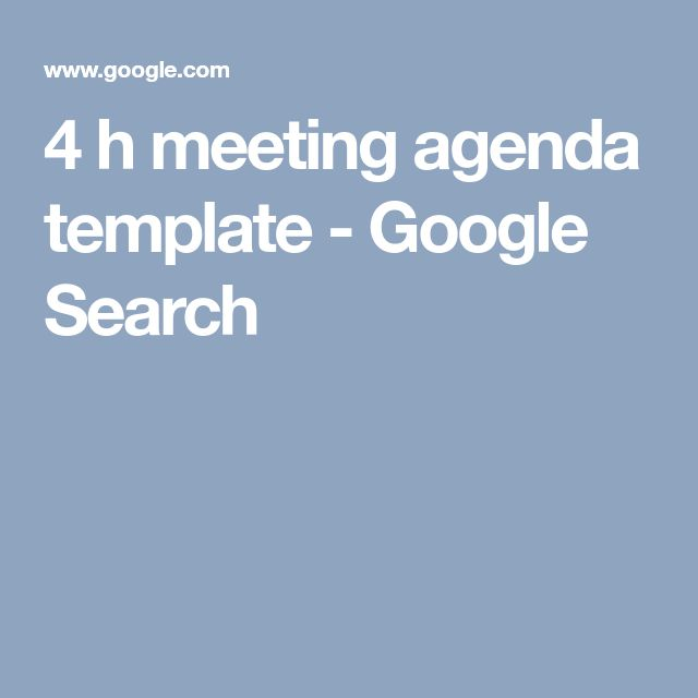 The 25+ best Meeting agenda template ideas on Pinterest Team - conference schedule template