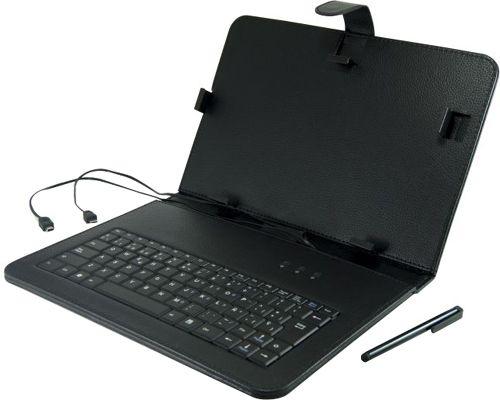 "Funda tablet 3Go para tablet 7"" negra con teclado USB #friki #android #iphone #computer #gadget"