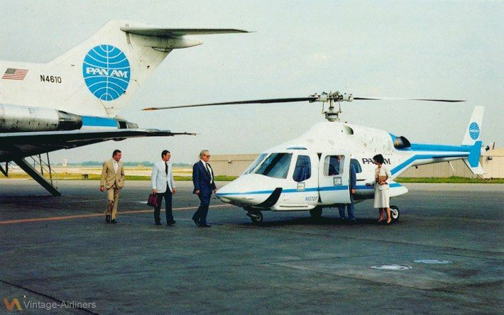Pan American Bell helicopter.Pan Americana, Commercials Aviators, Pan Am Th