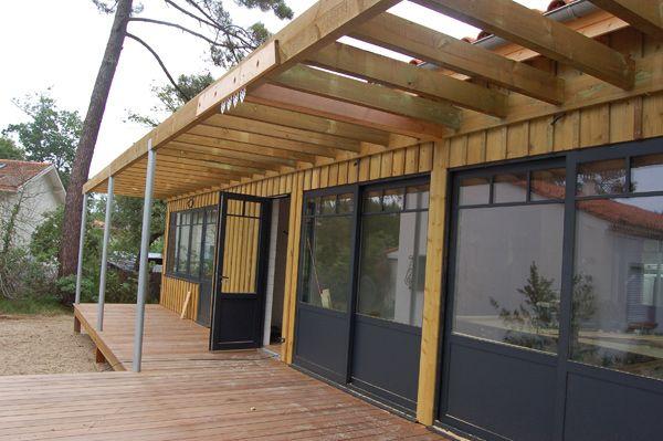 Maison en bois maison bois 33 entreprise de menuiserie for Entreprise construction maison bois