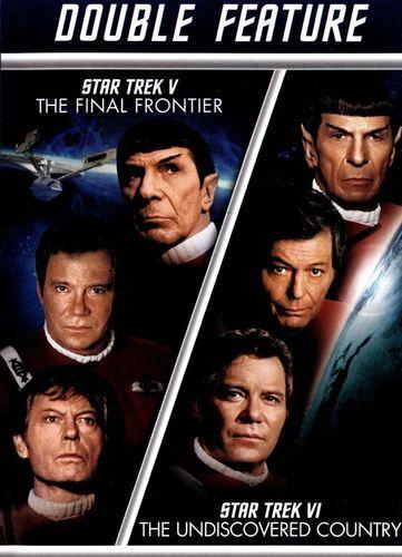 Star Trek V: The Final Frontier/Star Trek VI: The Undiscovered Country [2 Discs] [DVD]