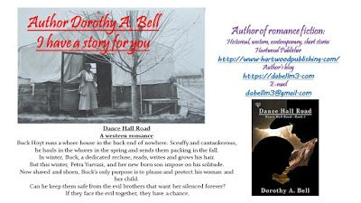 Shadows of the Past: Book Promo - Dorothy Bell and her Dance Hall Road