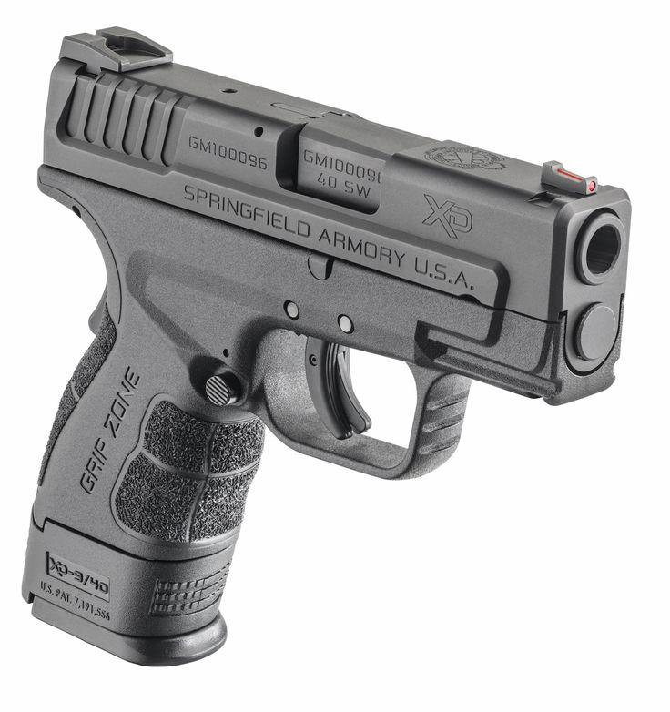 New Springfield XD-9 Mod.2 Sub-Compact