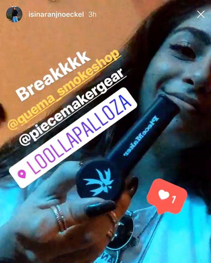 @isinaranjnoeckel with a PieceMaker Karma. Blaze your own trail. #piecemakergear.com #piecemaker #blazeyourowntrail #byot #expoweed #puentealto #chile #santiago #vivachile #piecemakergearsouthamerica #buenosdias #marihuana #marijuana #bong #420 #stoner #headshop #chilegram #siliconebong #pipa #weedstagram #hightimes #cannabischile #scl #montevideo  #chileweed  @en_vola @quema_smokeshop
