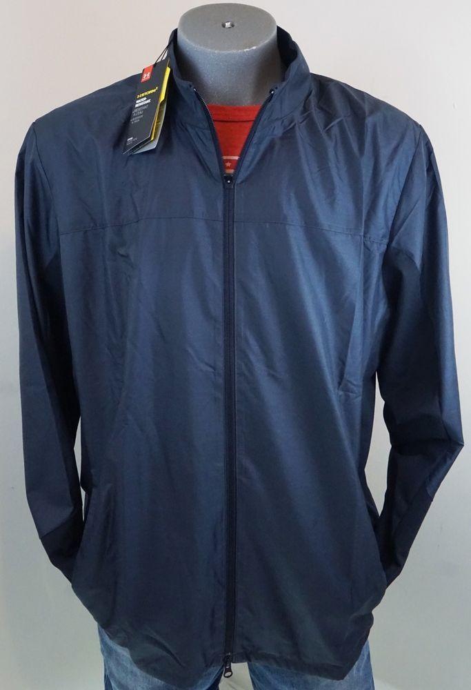 New $89.99 Under Armour Men's Golf Jacket Full Zip #Storm1 2XL Charcoal Gray #Underarmour #CoatsJackets