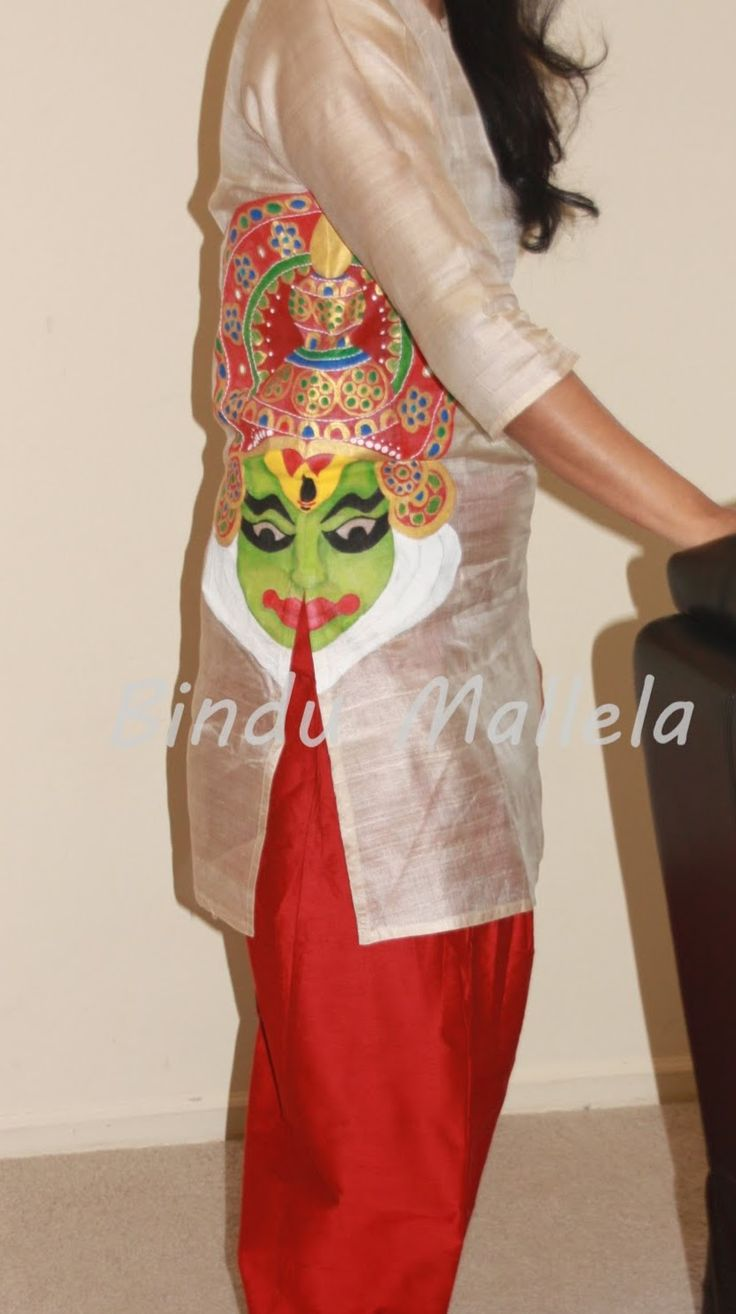 crazy for colors!: Kathakali face painting