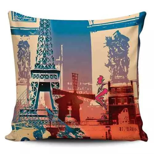 Cojin Decorativo Tayrona Store Paris 01 - $ 43.200