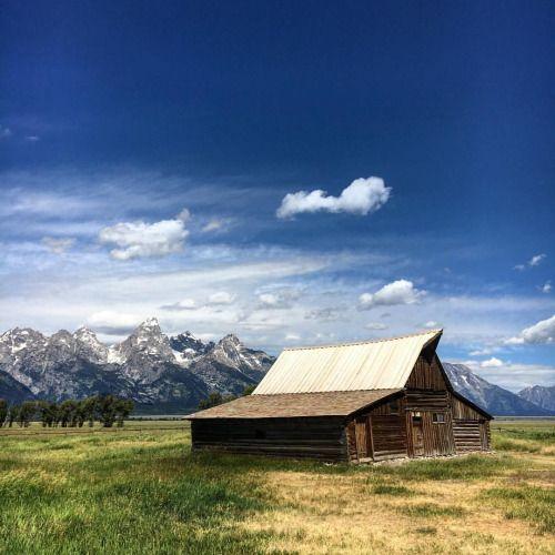 Morman Row Grand Teton National Park Wyoming. #MormanRow...