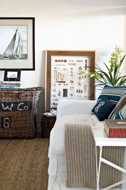 17 best ideas about nautical living rooms on pinterest - Decorative things for living room ...