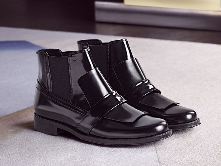 2018 cool Tod's Women Boots Boots Tod's womens Black TOD'S Womens Boots
