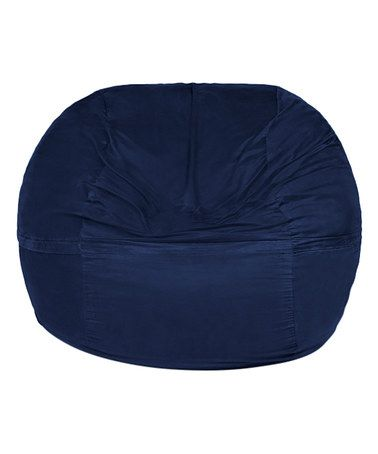 Another great find on #zulily! Navy Giant Bean Bag Chair #zulilyfinds