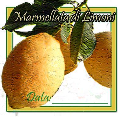 Etichette quadrate limoni in PDF, scaricabili gratuitamente per tenere in ordine la dispensa. Square labels lemons in PDF, downloadable for free in order to keep the pantry.