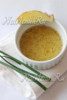 Имбирный соус