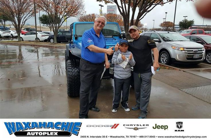 https://flic.kr/p/C5D12J | Congratulations Rosa on your #Jeep #Wrangler Unlimited from Mike White at Waxahachie Dodge Chrysler Jeep! | deliverymaxx.com/DealerReviews.aspx?DealerCode=F068